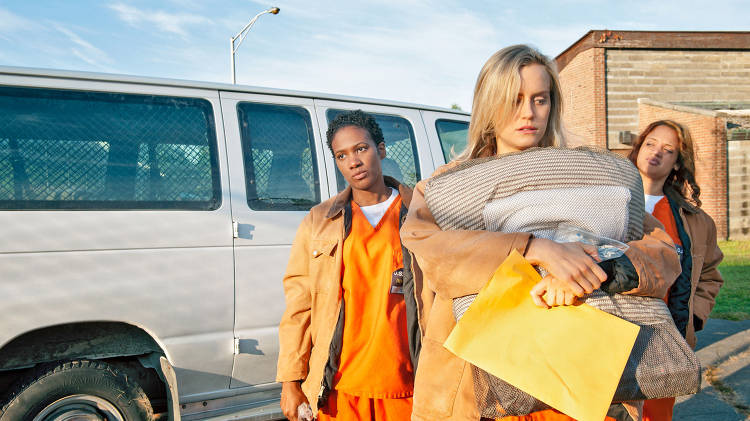 <p>Netflix's highly anticipated new series from Weeds creator Jenji Kohan tracks writer <a href=&quot;http://www.fastcocreate.com/1683370/orange-is-the-new-black-author-on-going-from-prison-to-netflix&quot; target=&quot;_self&quot;>Piper Kerman's fall through the justice system</a>.</p>