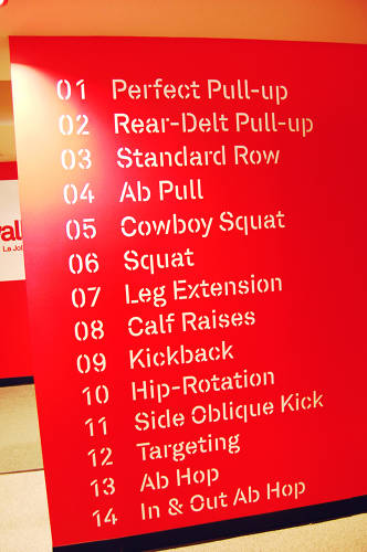 "<p>The workout includes 14 fundamental maneuvers with names like ""perfect pullup"" and ""cowboy squat."" Classes have a minimum ratio of one trainer per eight students.</p>"