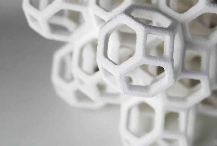 <p>The Sugar Lab in Echo Park, Los Angeles has ditched the trendy cupcake for the 3-D-printed sugar sculpture.</p>