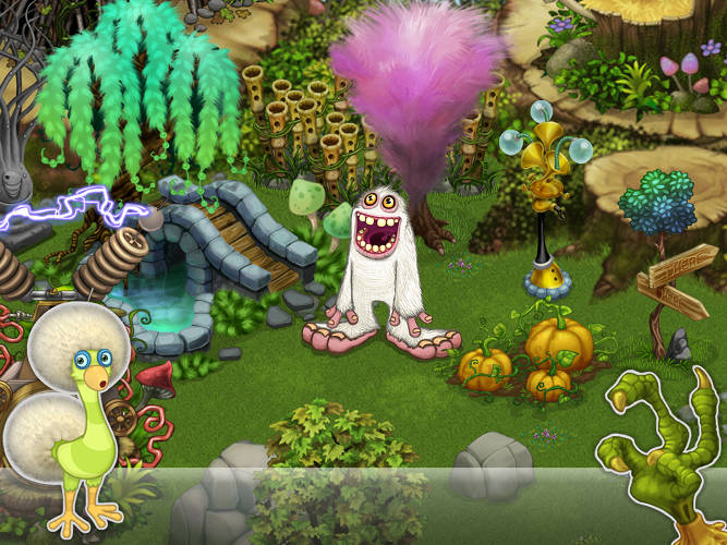 how to make the ghost on my singing monsters