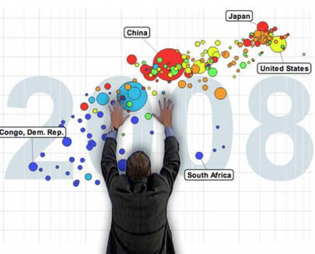 "<p>Swedish physician/statistician Hans Rosling's <a href=&quot;http://www.ted.com/talks/hans_rosling_shows_the_best_stats_you_ve_ever_seen.html&quot; target=&quot;_blank&quot;>famous 2006 TED talk</a> debunked myths about the so-called ""developing world"" and has been viewed by millions. The talk was accompanied by animated graphics created using the <a href=&quot;http://www.gapminder.org/&quot; target=&quot;_blank&quot;>Gapminder Foundation</a>'s Trendalyzer software.</p>  <p>""In a way, Gapminder was nothing new,"" says Kosara. ""Animated scatterplots had been done before. But the way Hans Rosling used them to show data and make it interesting was a huge eye-opener for the visualization community. Who knew that you could use visualization not just to analyze data, but to present it, and make it interesting? This wouldn't have worked without Rosling's performance, but that only worked because he had impressive charts to work with.""</p>  <p>Rosling transformed dry statistics about serious global issues into an illuminating form of entertainment, earning him a spot on <em>Time</em> magazine's 2012 100 most influential people list.</p>"