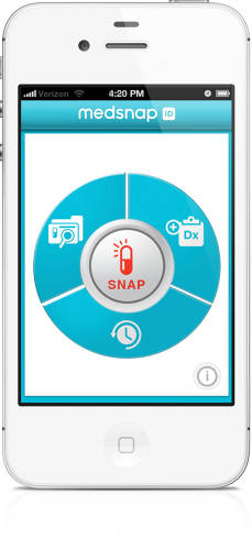 <p>MedSnap's UI is designed for quick use.</p>