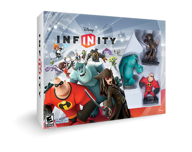 <p>The game's $74.99 &quot;starter pack,&quot; released on August 18, comes with three figures from different movies--Jack Sparrow, <em>The Incredibles</em>' Mr. Incredible, and <em>Monsters University</em>'s Sulley--along with a flat base that plugs into console systems. Placing the toys onto the base unlocks areas of the game, and players can buy more toys--a $34.99 <em>Cars</em> play set, say--to access more content.</p>
