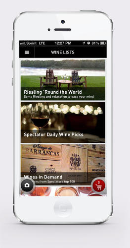 <p>Drync curates a list to help people discover new wines. The company aims to add more recommendation tools in a later version.</p>