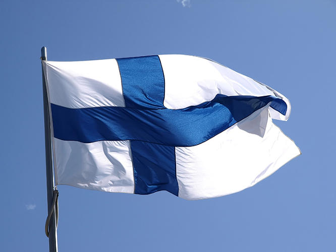 <p>Finland is No. 8.</p>