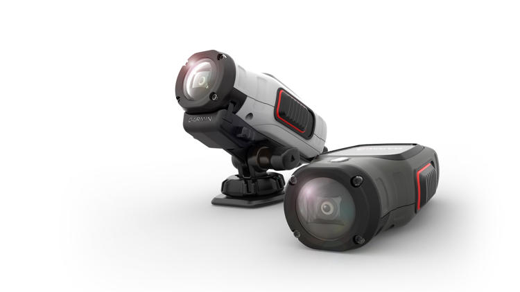 <p>The higher-end Virb Elite logs location and activity data while capturing footage.</p>