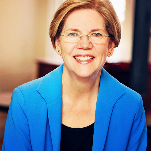 <p>Elizabeth Warren regularly posts about the latest in policy news and often interacts with her fellow political peers. Follow <a href=&quot;http://twitter.com/Elizabethforma&quot; target=&quot;_blank&quot;>@Elizabethforma<br /> </a></p>