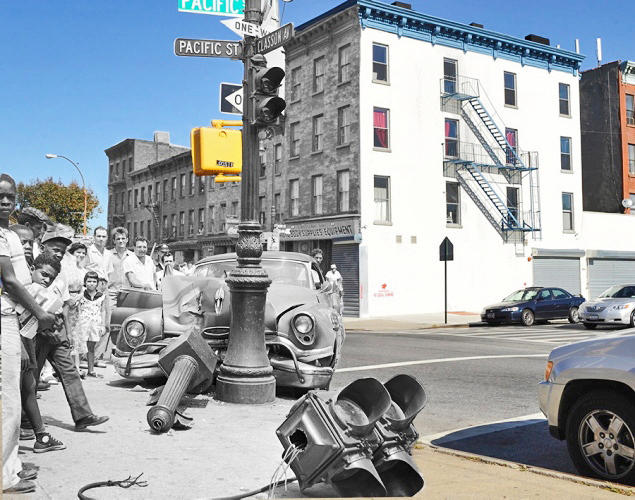<p>Pacific St. and Classon Ave. in Brooklyn.</p>