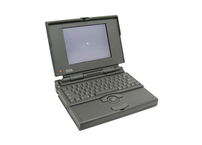 <p>Apple debuted a line of three PowerBooks, the 100, 140 and 170, in 1991 capturing a huge chunk of the laptop market in the early '90s.</p>