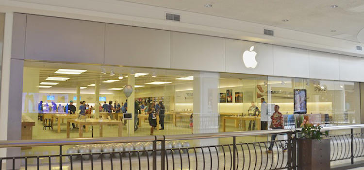 <p>After years of planning, recruitment, and strategy, the first Apple Store location opened in Tyson's Corner, Virginia on May 19, 2001.</p>