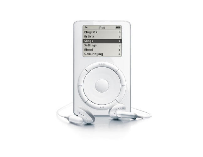 <p>Jon Rubinstein's discovery of a tiny disk drive in Japan spurred on the iPod, which was released months after Apple launched iTunes. The player has gone through 25 iterations since its introduction.</p>