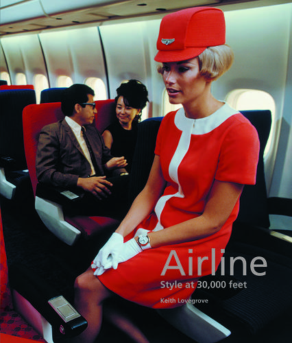 "<p>Writer and graphic designer Keith Lovegrove's <em>Airline: Style at 30,000 Feet</em> showcases the Golden Age of air travel--the glamorous days of ""flying boats,"" stewardesses in hotpants and bubble helmets, and ""slumberettes.""</p>"