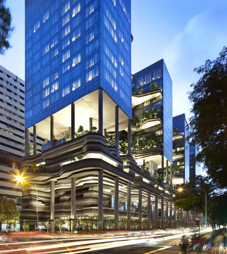 <p>Singapore is among the world's leading adopters of green tech, at least when it comes to architecture.</p>