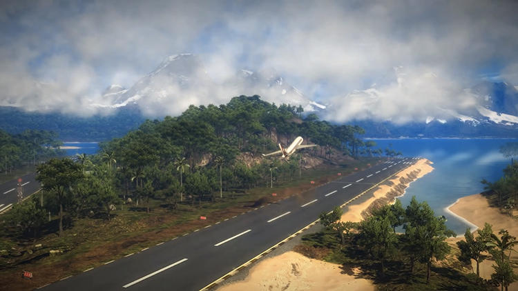 <p>Most will agree that video games don't qualify as art. Yet there's an artistry at work in game design that's hard to miss.</p>  <p>Above: &quot;Panau&quot; from <em>Just Cause 2</em> (2010)</p>
