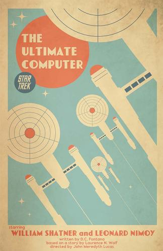 <p>The &quot;Ultimate Computer&quot; poster almost seems like some sort of vintage travel brochure.</p>
