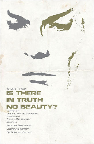 <p>A contemplative Spock considered whether there is no truth in beauty.</p>