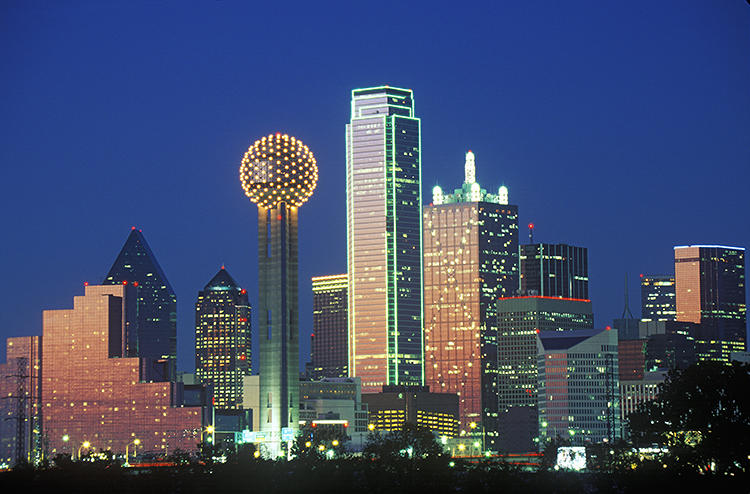 <p>Dallas/Fort Worth is the city with the most &quot;very happy&quot; residents.</p>