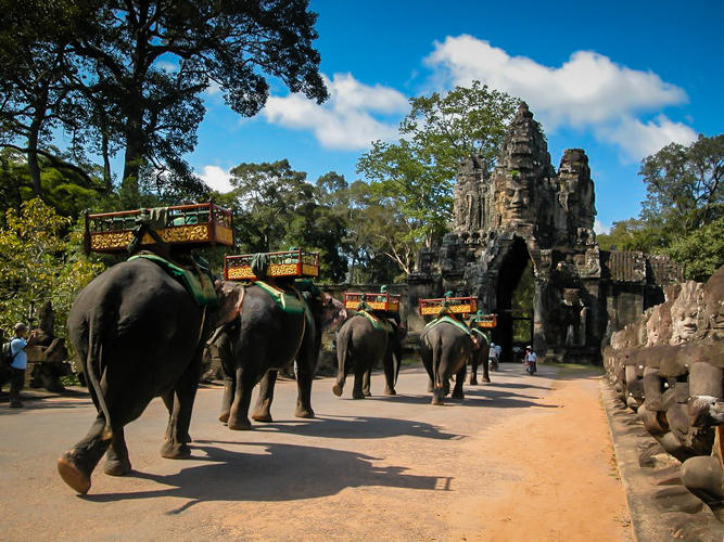<p>Immerse yourself in the hidden temples of Angkor in Cambodia. Your Vayable Insider will show you the ancient architecture of Banteay Srei, Ta Prohm Temple, and Bayon Temple and the modern hustle and bustle of Siem Reap during this full-day adventure.</p>