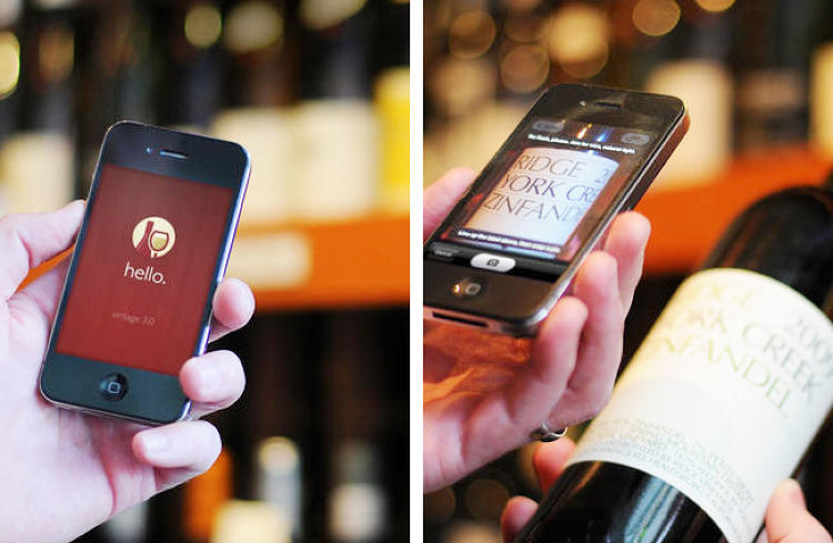 <p>The world of wine is confusing. Actually, no, it's terrifying. Enter Hello Vino, the app that boasts &quot;NO SLOBS ALLOWED&quot; (thank god). It features a handy wine label scanner that lets you snap a photo of a wine bottle and instantly pull up reviews and food pairings and a library of recommendations.</p>