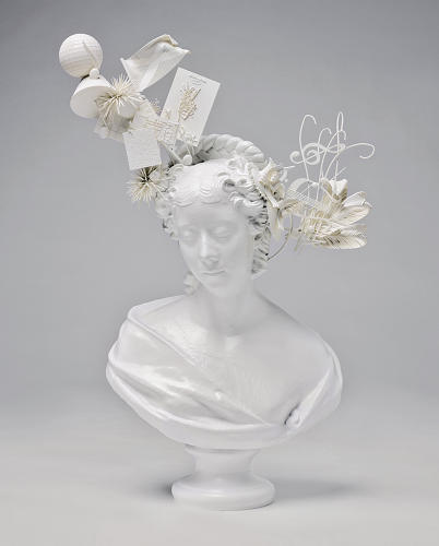<p><em>Bust of Lady Belhaven (after Samuel Joseph)</em>, 2011<br /> Epoxy resin, nylon; stereolithography, laser sintering<br /> Made by MGX by Materialise 36 1/4 x 22 x 10 1/4 in. (92.1 x 55.9 x 26 cm)<br /> Museum of Arts and Design, museum purchase with funds provided by Marcia and Alan Docter, 2012</p>