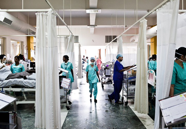 <p>Narayana Hrudayalaya's hospitals are responsible for more than 9,000 cardiac surgeries a year--10% of all such operations in India--with a 98% survival rate.</p>