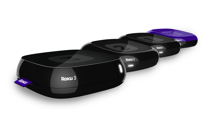 <p>Roku's updated set-top box line: the Roku LT, Roku 1, Roku 2, and Roku 3.</p>