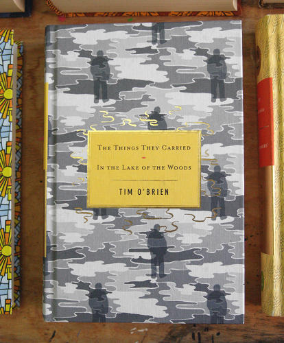 <p>Cover to Tim O'Brien's <em>The Things They Carried</em> and <em>In The Lake Of The Woods</em></p>