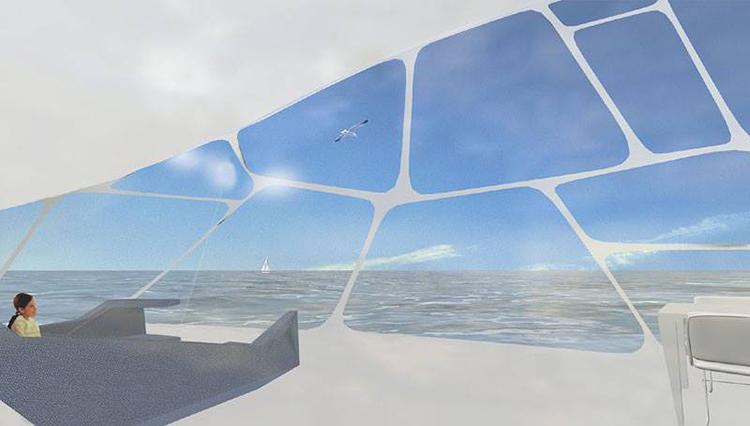 <p>Knoester's latest vision: Floating parks and villas on the Maas, a European river that runs through France, Belgium, the Netherlands, and empties into the North Sea.</p>
