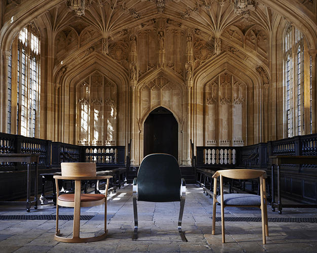 <p>How do you create a chair for the ages--something that can fit into Oxford's storied history while updating it at the same time?</p>