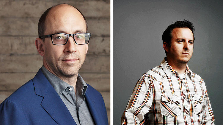 "<p>Dick Costolo, CEO<br /> Doug Bowman, creative director</p>  <p>It makes sense that Twitter--the holy grail of snappy one-liners--is helmed by a former stand-up comic. Costolo, an alum of Chicago's Second City, recruited visionary designer Bowman to transform what could be a chaotic, overwhelming forum into a user-friendly digital interface. ""Doug's sense of Twitter's look and feel is intuitive and clever,"" Costolo tells Co.Design. ""I count on Doug to keep the user's perspective front and center.""</p>"