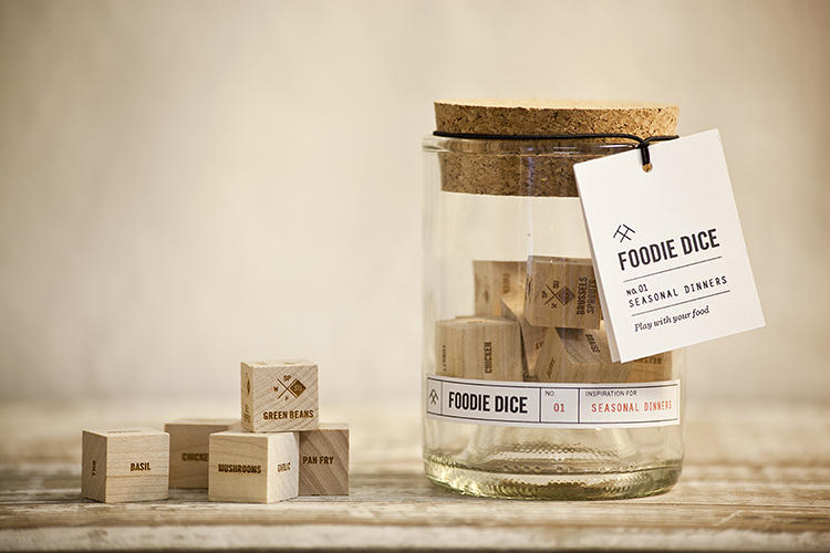 <p>Get a set of Foodie Dice in a tumbler for $26, through the <a href=&quot;http://www.kickstarter.com/projects/twotumbleweeds/foodie-dice-play-with-your-food?ref=recommended&quot; target=&quot;_blank&quot;>Kickstarter campaign</a>.</p>