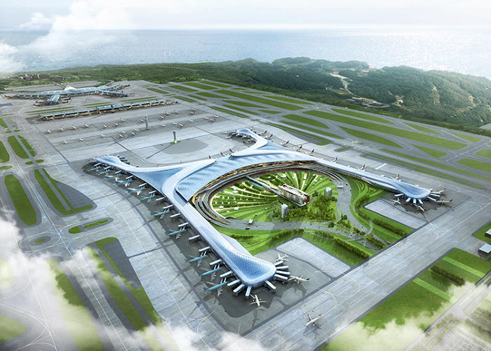 <p>How do you improve on the best airport in the world? That was the question posed to design firm Gensler, which collaborated with the HMGY Consortium to build Incheon International Airport's Terminal 2--a mini-city within an airport containing everything from a koi pond to an entire retail district.</p>