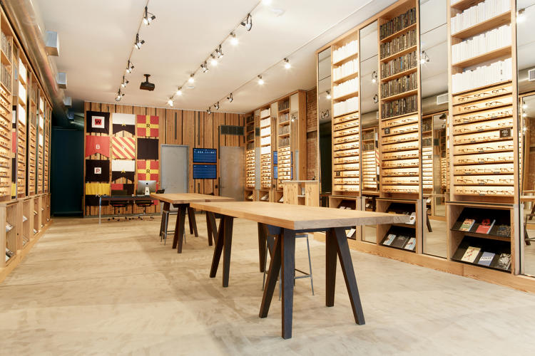 warby parker 39 s retail stores are pacing 75 ahead of