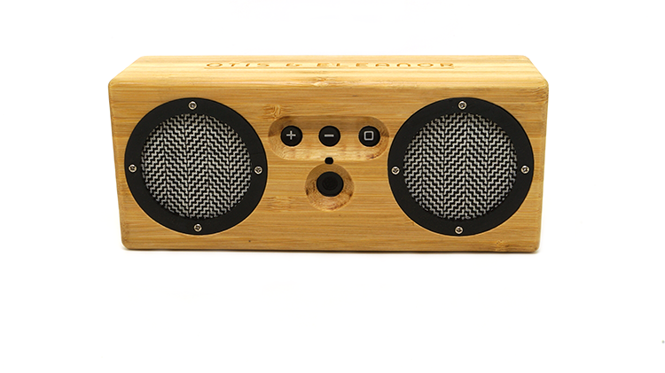 <p>The Bongo costs $125 through the Otis &amp; Eleanor <a href=&quot;http://www.kickstarter.com/projects/1423887082/bongo-bamboo-bluetooth-speaker-subverting-the-reta&quot; target=&quot;_blank&quot;>Kickstarter campaign</a>.</p>