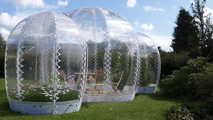 <p>It's the greenhouse redux for the pop-up age.</p>
