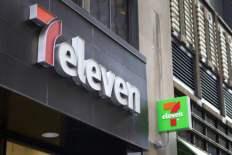 <p>After 43 years, 7-Eleven has a new look and logo.</p>