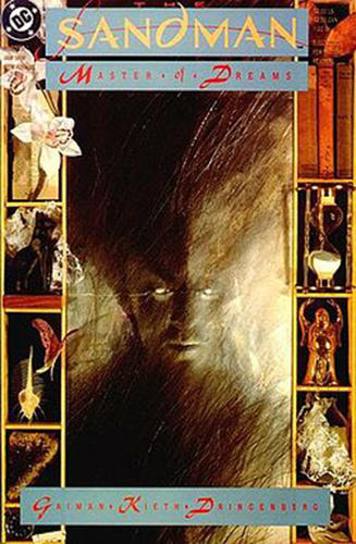 <p>The original <em>The Sandman</em> issue #1 January 1989 cover by Dave McKean</p>