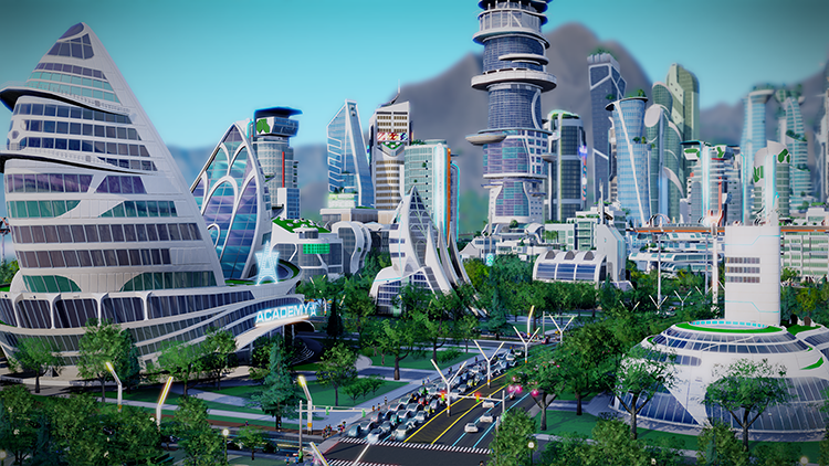 <p>There are no flying cars in SimCity designer Stone Librande's version of the future, set somewhere between 2060 and 2080.</p>