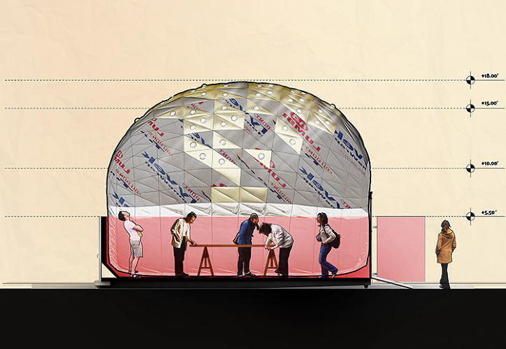 <p>The Inflato is designed for neighborhood use, with each pop-up hosting events geared toward specific areas of the city.</p>