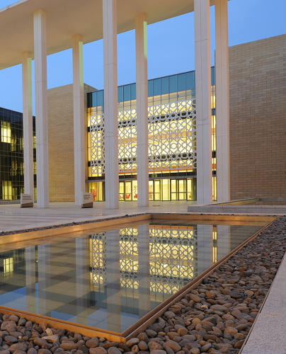 <p>Recently completed Princess Nora Bint Abdulrahman University (PNU), now the largest women's university in the world, is gigantic, especially considering that all of the buildings were constructed in just one year.</p>