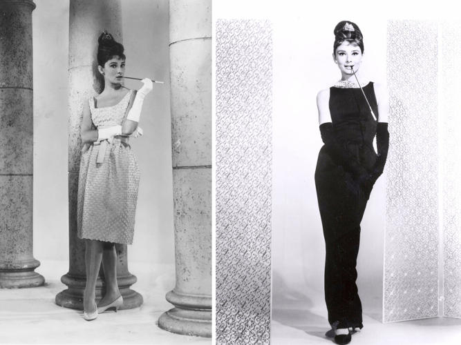 <p>Audrey Hepburn in <em>Breakfast at Tiffany's</em>. The gowns were supplied by Givenchy at Head's request.</p>