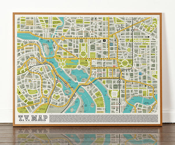 <p>You can purchase the complete map from Dorothy starting today on the studio's website.</p>