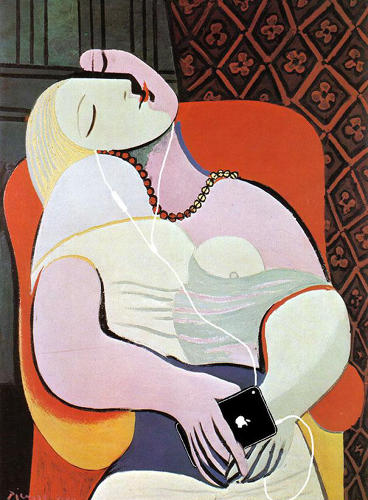 "<p>""The Dream"" by Pablo Picasso</p>"