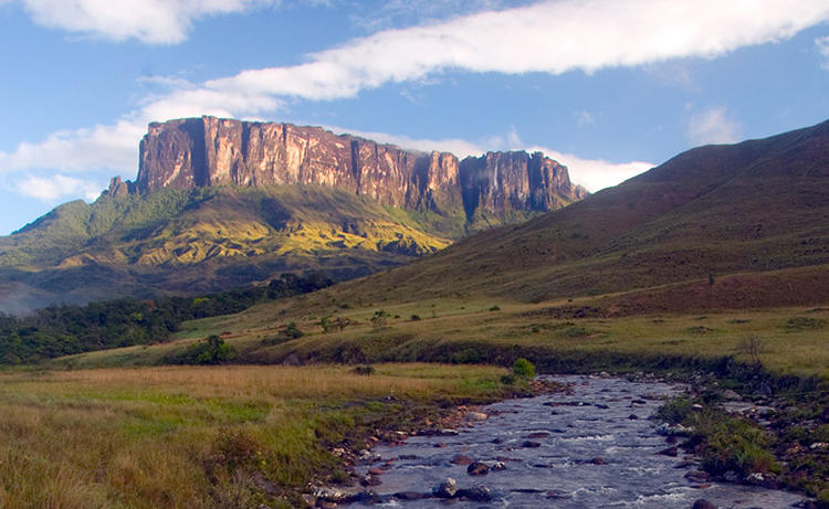 <p>The IUCN has ranked Canaima National Park and its surrounding area as the most irreplaceable in the world. Its breathtaking topography explains why: Canaima, like other parts of northeastern South America, features tepuyes, flat, tabletop mountains rising 1,000 to 3,000 meters high.</p>