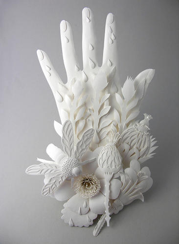<p>If you would like to see some of Mora's magnificent paper sculptures in person, some of her work will be on exhibit at the Couturier Gallery in Los Angeles from December 7th to January 4th.</p>
