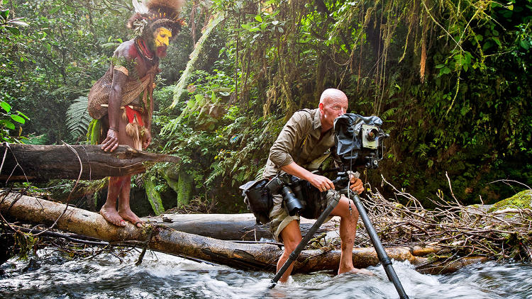 <p>Jimmy Nelson in Papua New Guinea</p>