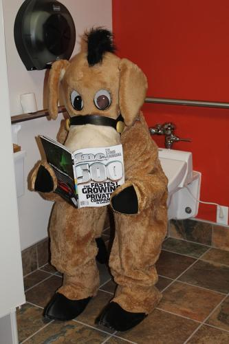 <p>From @BIG_ASS_FANS1h: For World Toilet Day, our mascot Fanny reads atop a fancy Toto with heated seat and bidet options. #checkoutmytoilet pic.twitter.com/638tey6uK6</p>