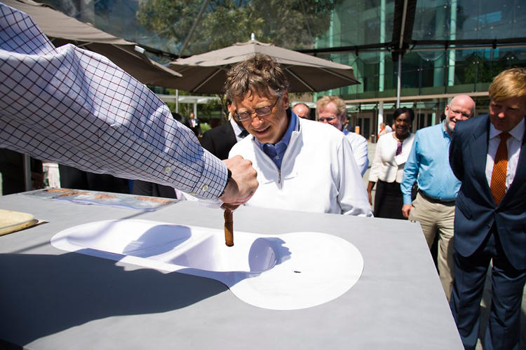 <p>Instead of asking researchers to test their own toilets, the Gates Foundation sourced synthetic feces for its 2012 Reinvent the Toilet Fair.</p>