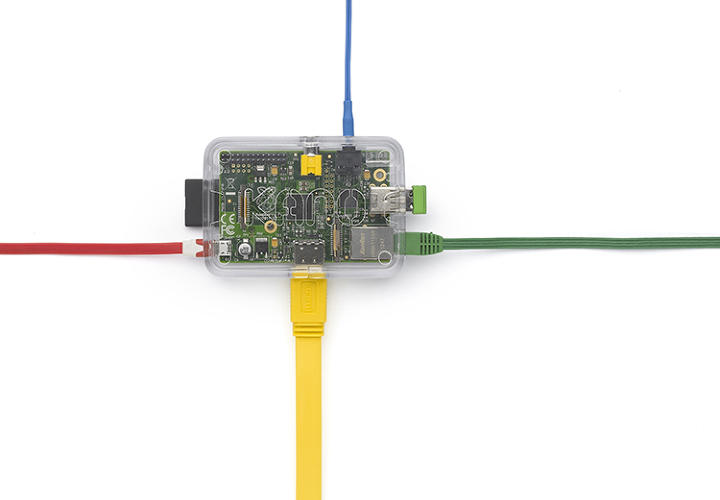 <p>The Raspberry Pi motherboard is left visible on purpose, making its function transparent. Since the kit is intended for use by kids, the plastic used is BPA free and food grade, but extremely durable and includes clip-in top covers that can be easily popped in and out and customized.</p>
