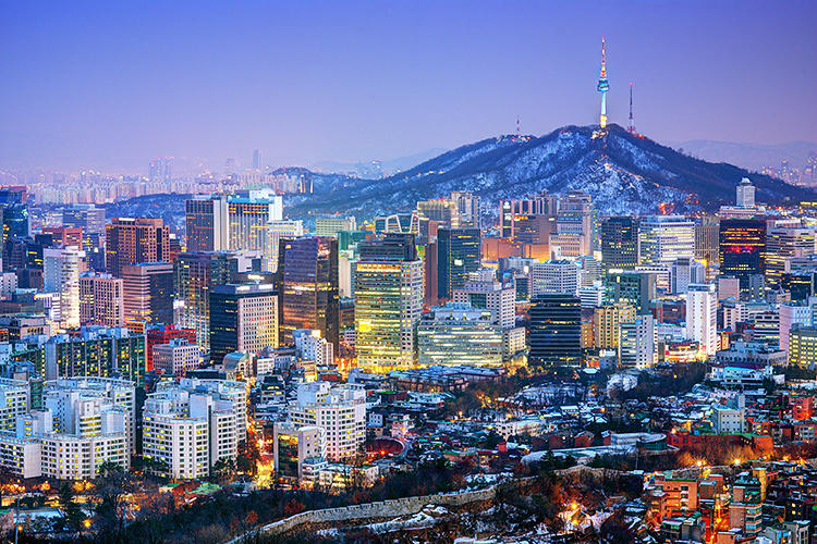 <p>The 10 smartest Asia / Pacific Cities. 1: Seoul</p>